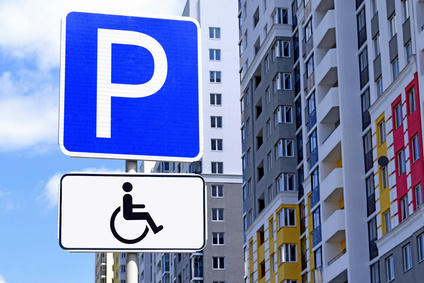 Disabled parking permit.